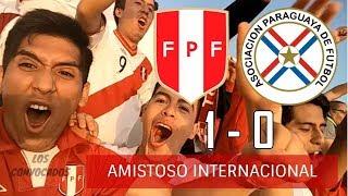 peru vs paraguay   08 06 17   reacciones amistoso desde el estadio
