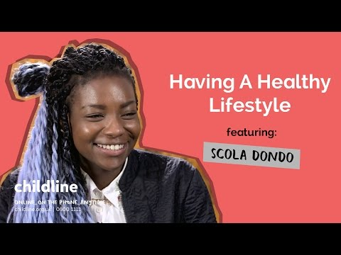 Having A Healthy Lifestyle ft. Scola Dondo | Voice Box | Childline