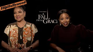 "Phylicia Rashad And Bresha Webb Bring The Drama In ""A Fall From Grace"""