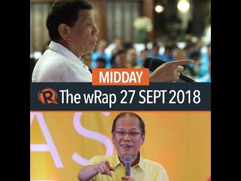 Duterte slams communists, Noynoy on Trillanes warrant, denuclearization | Midday wRap