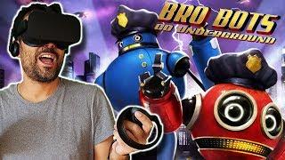 POLICÍAS ROBOTS EN REALIDAD VIRTUAL   Bro Bots (Narrativa Inmersiva)