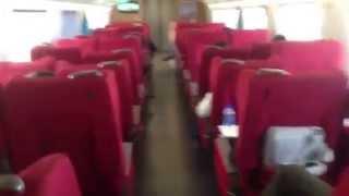 中国東北部の旅  2013 09  Part  13  哈大高速鉄道 グリーン車