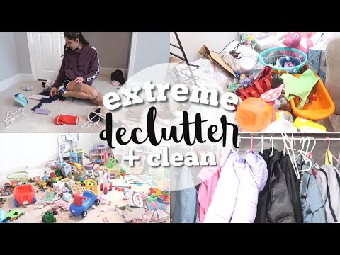 HUGE HOUSE DECLUTTER // ULTIMATE CLEAN WITH ME 2019 // MASSIVE PURGE