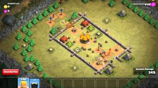 Clash of Clans - Minimalist Army Walkthrough #4: Rocky Fort