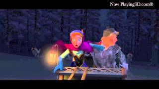 Disney's Frozen 2013 Official Clip Wolf Chase