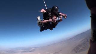 Outside Video SinCity Skydiving with Wedge at RF Memorial March 2013