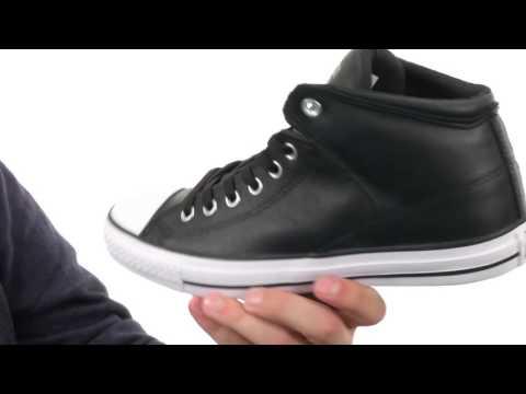 Converse Chuck Taylor® All Star® Hi Street Leather  SKU:8586925