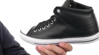 converse homme leather chuck taylor hi street