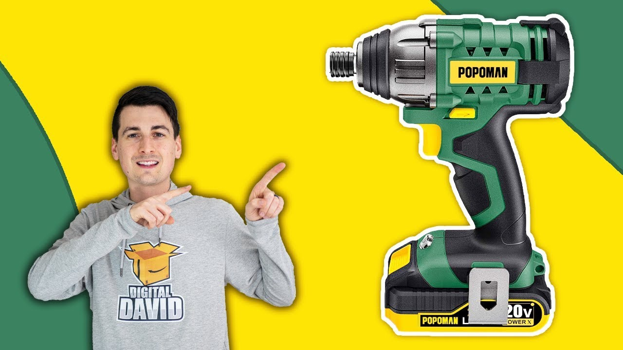 POPOMAN Impact Driver Review // Cordless Impact Driver Tool Review