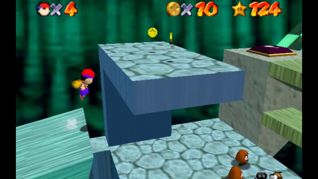 Ninten, Ness, Lucas and Travis Playable in Super Mario 64  (mother/Earthbound)