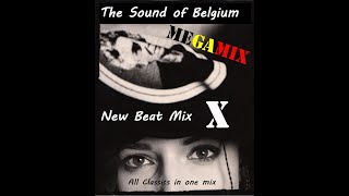 The Sound of Belgium - New Beat mix X (MEGAMIX)