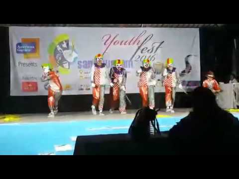 Charlie chaplin clown dance part-2ryan and group