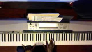 I feel like going on Marvin Winans (Piano Tutorial)