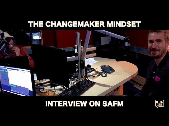 Ilja Grzeskowitz on South Africa FM about Change, Leadership and Education