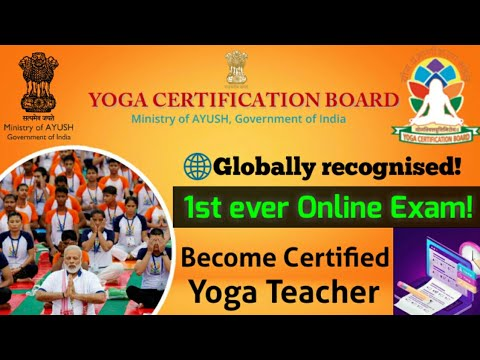 Become Certified #Yoga Teacher Staying at home through YCB, #AYUSH ministry 🇮🇳 #Online exam