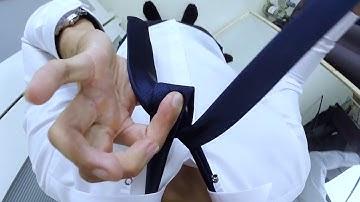 1인칭 넥타이 매는법 천천히,쉽게,하프윈저 how to tie a tie windsor knot @ManThrough