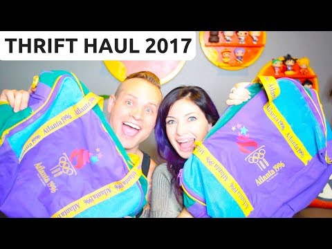 THRIFT HAUL 2017 - Goodwill & Salvation Army - Sell Stuff on eBay! - RALLI ROOTS