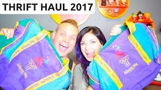 THRIFT HAUL 2017 - Goodwill & Salvation Army - Sell Stuff on eBay! - RALLI ROOTS