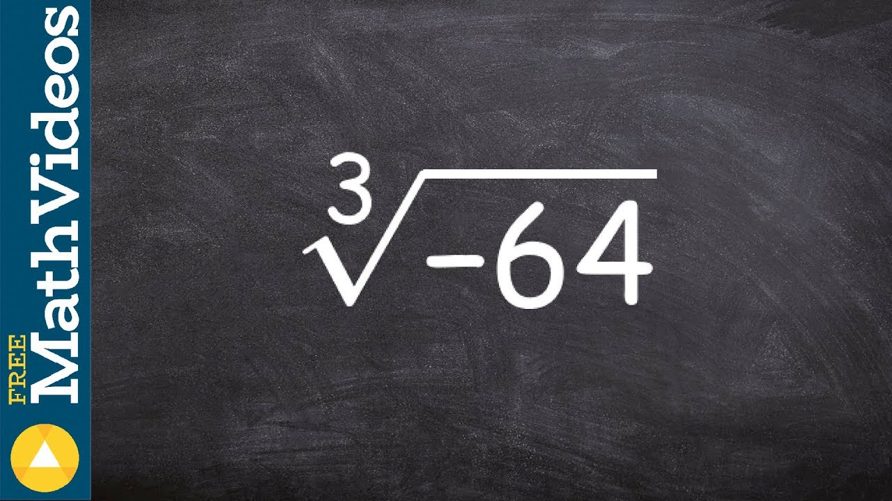 how to take cube root
