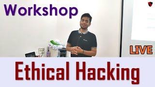 [HINDI] Workshop on Ethical Hacking #1 | With Practicals | Ansh Bhawnani