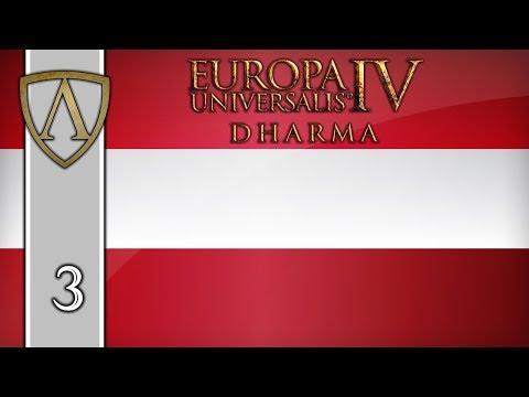 Let's Play EU4 -- 1.27 Poland Patch -- Austria -- Part 3