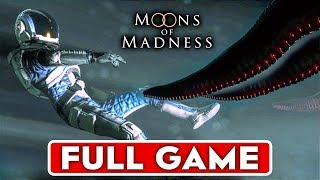 MOONS OF MADNESS Gameplay Walkthrough Part 1 FULL GAME [1080p HD 60FPS PC] - No Commentary