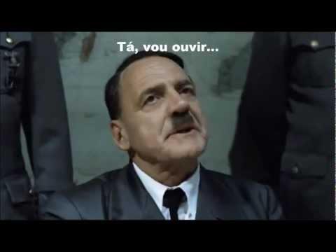 Reação do Hitler com nova música do Latino Despedida de Solteiro - Paródia Gangnam Style