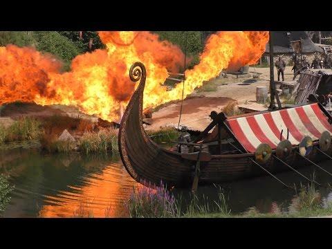 Puy du Fou Les Vikings saison 2016 (vidéo 4k)