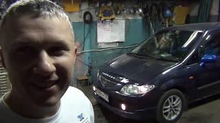 Mazda Premacy свечи,бампер,кожух под акум....