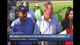 MINDEF VISITA  BELLA UNION  EN AREQUIPA    CANAL N