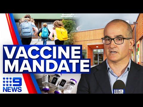 COVID-19 vaccine mandate for Victoria's education sector   Coronavirus   9 News Australia