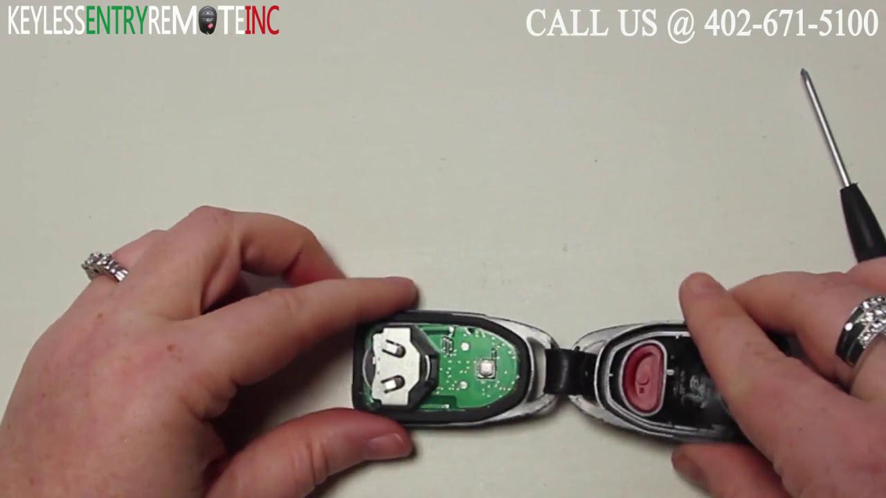 How To Replace Hyundai Elantra Key Fob Battery 2010 2011 2012 Youtube
