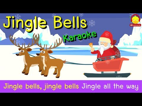 เพลงจิงเกอร์เบล ซานตาคลอส | Jingle Bells | เพลงเด็กภาษาอังกฤษคาราโอเกะ | ช่อง indysong kids