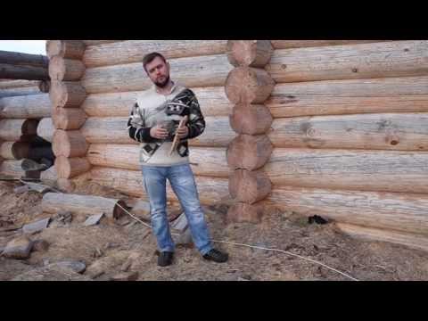 Как установить нагель деревянный в брус