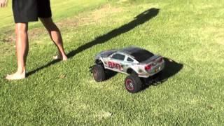 Shot put vs. RC Car - How Ridiculous