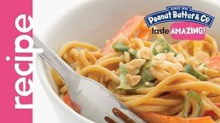Cold Peanut Butter Sesame Noodles