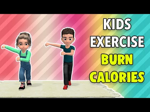 Daily Kids Exercise To Burn Calories
