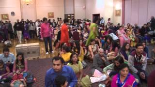 ITV report by Ashok Vyas on Annakoot Mahotsav 2014 VTNY VT