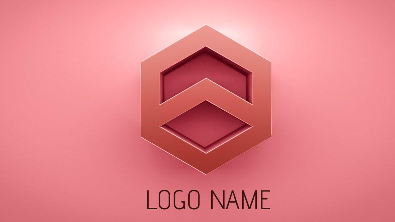 Photoshop Tutorial How To Make 3d Logo Design Youtube