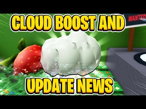CLOUD VIAL CLOUD BOOST And More Update News In Roblox Bee Swarm Simulator