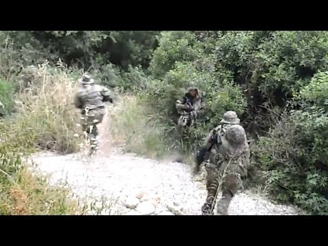 Special forces . Tactical operation 21. Instant cover