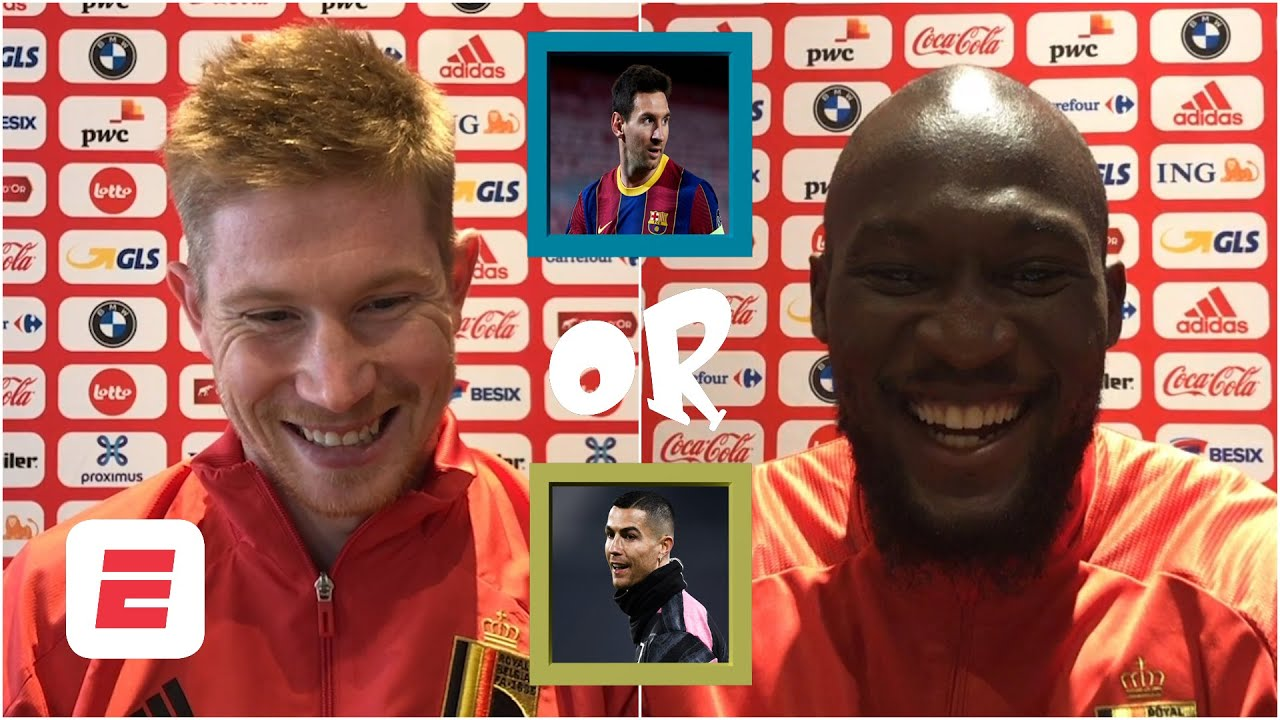 Download Old Trafford or Anfield? Ronaldo or Messi? Lukaku & De Bruyne play 'You Have To Answer' | ESPN FC