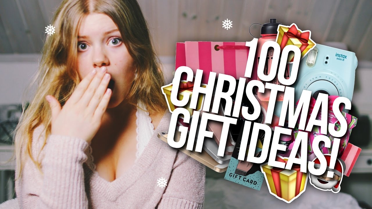 100 CHRISTMAS GIFT IDEAS 2016! // For Girls, Guys, Mom, Dad, + MORE ...