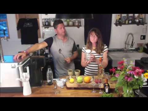 #SanteVBar Episode 2, Learn 2 Make Herbal Infused Sangria Sans(Sugar), w Sante WildCrafted Cocktails