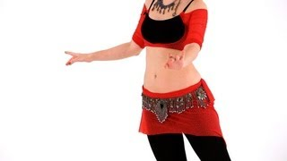 How to Do Turns & Figure 8 Moves | Belly Dance