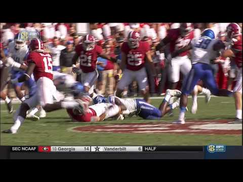 2015 Middle Tennessee State vs. #2 Alabama (HD)