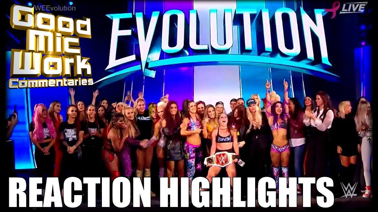 Wwe Evolution Stream