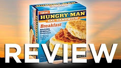 Hungry-Man Breakfast Bacon Biscuit XXL Sandwich Video Review: Freezerburns (Ep535)