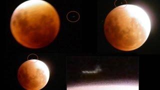 """Podczas ostatniego """"krwawego Księżyca"""" nasz satelita zetknął się zdziwnym obiektem"""