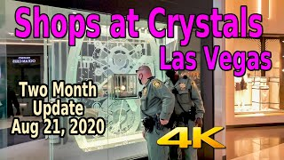 SHOPS AT CRYSTALS LAS VEGAS STRIP UPDATE - GRAB YOUR WALLETS!!